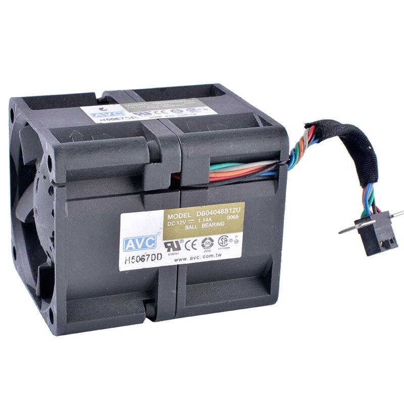 COOLING REVOLUTION DB04048B12U 4048 40x40x48mm 12V 1.14A 1U server air flow fan