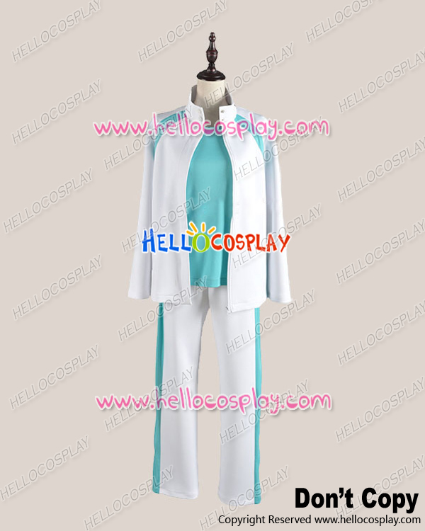 Haikyu Cosplay Juvenile Blue White Sportswear Uniform Costume H008