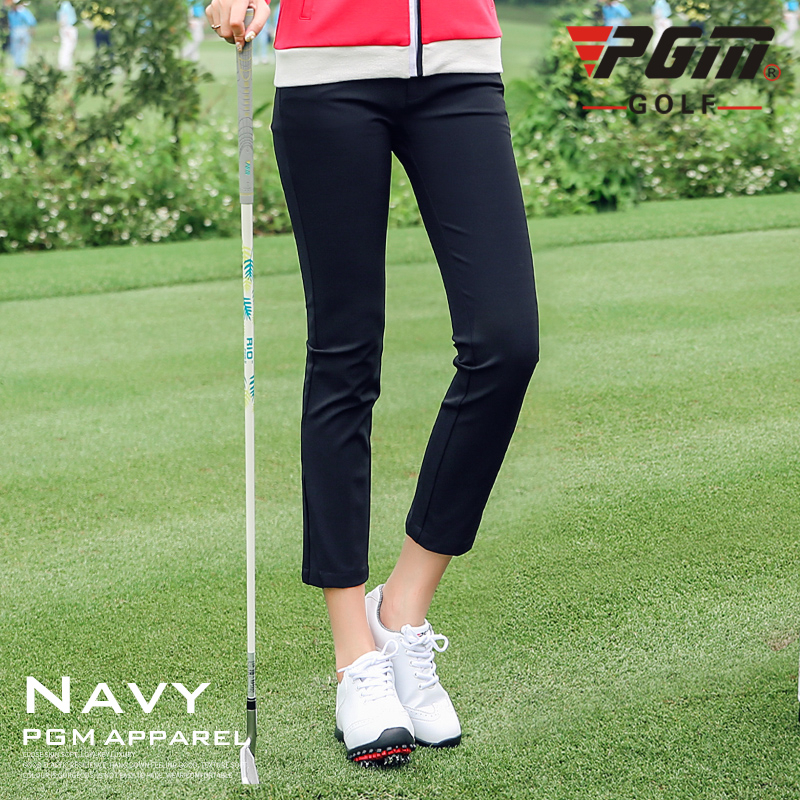 Pants Ladies Golf-Clothing Women's Mid-Waist D0502 Leisure Breathable High-Elastic New-Arrival