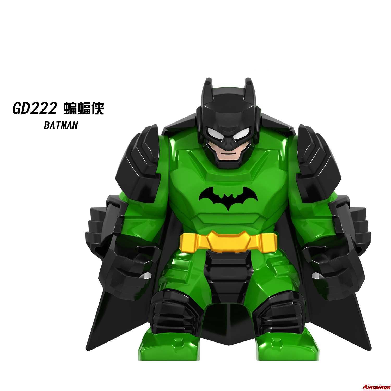 Lockings Marvel süper kahramanlar serisi Avengers Batman film rakamlar eylem modeli oyuncak inşaat blokları süper kahraman demir adam örümcek adam
