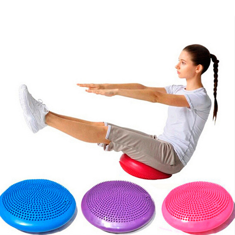 5 Color, Thicken Inflatable Massage Yoga Mat Soft PVC