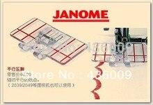 Внутренний Вышивание машины Запчасти лапка границы руководство ног 605 для Janome брата Juki Singer 6 мм 9 мм (200434003,20208400)
