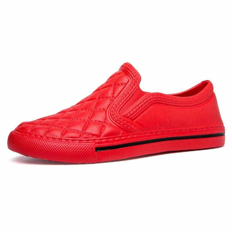 YIQITAZER 2018 Bagus Rumah Musim Panas Sandal Pria Sepatu, Lantai - Sepatu Pria - Foto 6