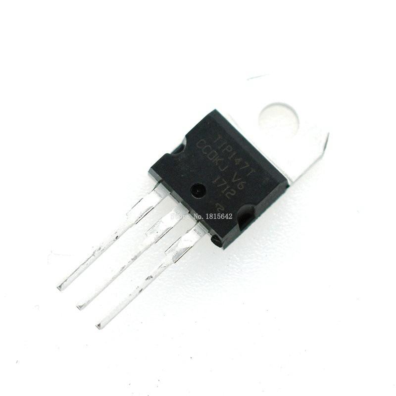 10PCS TIP31C TIP32C TIP41C TIP42C TIP102 TIP120 TIP122 TIP127 TIP142 TIP147 TO-220 Triode Transistor