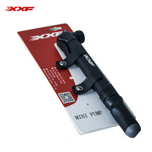 Xxf Bicycle Aluminum Mini Pump Pressure Gauge Air Pumps Black Bike Bomba Bicicleta Ciclismo Mini Herramientas Special Offer