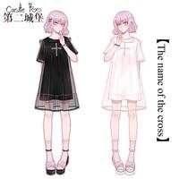 Summer Lolita Original Design Women Short Lolita Cute Dress Sweet Girls Daily Cotton T shirt Frill Chiffon Cover Skirt 2018 New