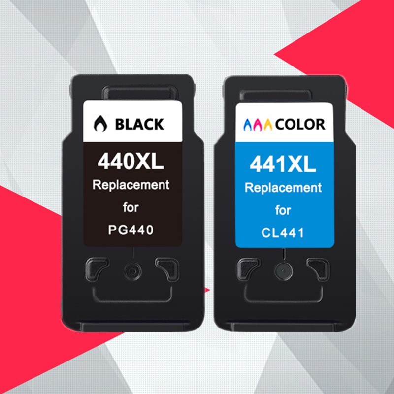 PG 440 CL 441 compatible Ink Cartridge Replacement for Canon PG440 CL441 440XL 441XL for Printer
