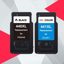 PG 440 PG440XL CL 441 compatible Ink Cartridge for Canon PG440 CL441 440XL 441XL for Printer