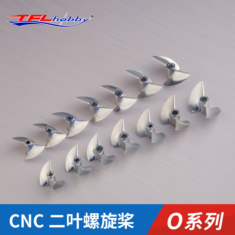 TFL Genuine Parts! 2 Blade O-Series  CNC7075  Aluminium Propeller For Catamaran MONO1  RC Boat