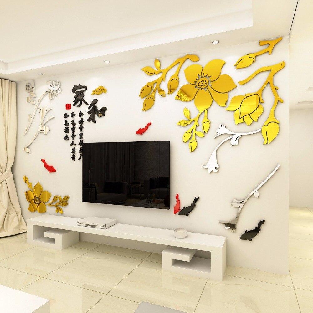 UN set di 8 pz 3D Resina Uccello Decorazione Della Casa Tridimensionale Adesivi Murali Decorazione Della Parete Creativo Soggiorno Decorazione Artigianato - 3