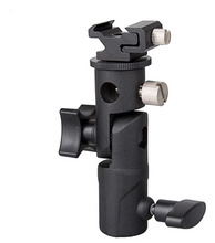 Camera E Type Flash Hot Shoe Umbrella Holder Mount Light Stand Bracket For Tripod Umbrella Speedlite