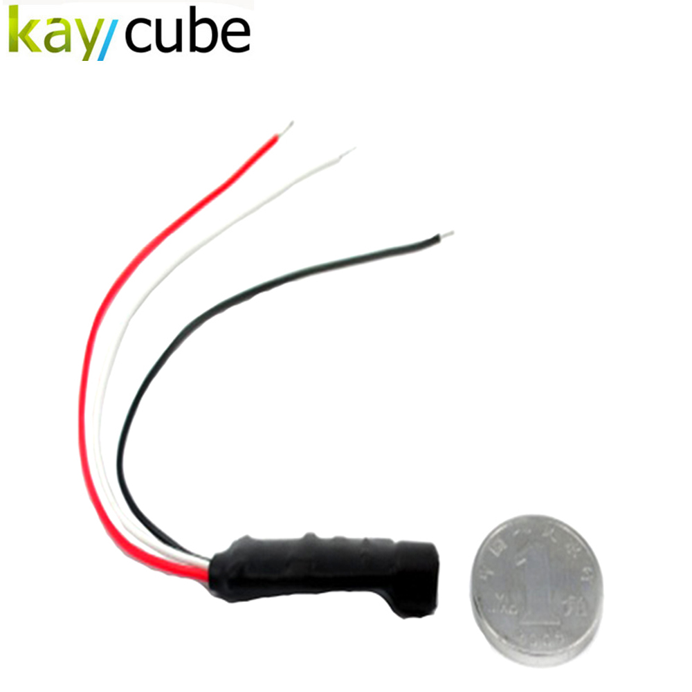 kaycube Mini Mic Sound Monitor High Sensitive Audio Pickup Device Tiny Microphone for CCTV Security Camera WHolesale цена