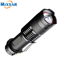 Zk50 CREE XM L2 3500LM Led Torch 5 Mode Zoomable Lantern LED Tactical Waterproof Led Flashlights