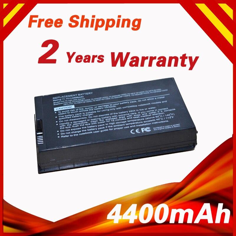 4400mAh Laptop Battery For Asus N80 N80Vc A8Tc A8Tm A8Z F8 F8DC F8P F8S F8SG F8SN F8SP F8SV F8Sa F8Se F8Sr F8Tr F8V F8Va F8Vr