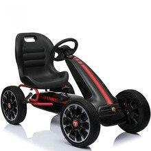 Новое поступление Педальный картинг, 12 дюймов EVA колесо картинг, Детская четырехколесная педаль Go Cart спортивные игрушечные машинки для тренировки упражнений