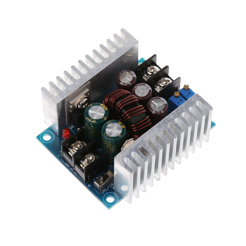 DC 300W 20A CC CV Constant Current Adjustable Step-Down Converter Voltage Buck adroit dc dc cc cv buck converter step down 7 32v to 0 8 28v 12a adjustable constant voltage current power supply module 30s7327