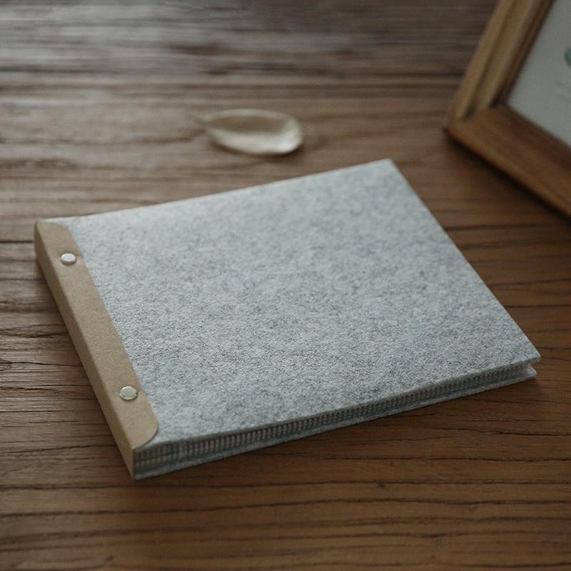 Diy Soft Cover Book Binding : Plush cover spiral binding hand books notebook diy album