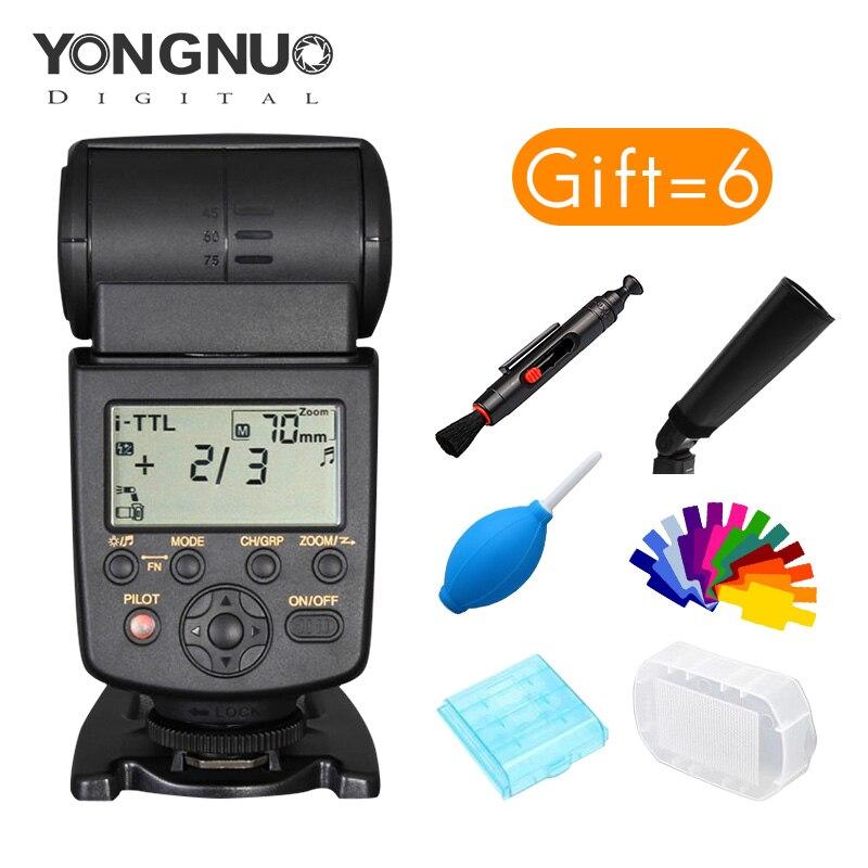 Yongnuo YN568EX  2.4G TTL High Speed Sync Wireless Flash Speedlite For Nikon D750 D810 D3400 D3200 D5600 D5300 D7100 D7200 монитор g sync