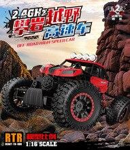 1 16 Power Climbing Crawler Off Road Monster 2 4G Racing Car Vehicles Children Electric RC