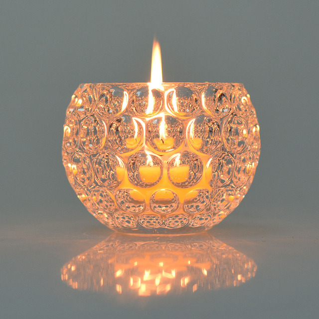 Clear Crystal Votive Candle Holder Wedding Centerpieces Tealight