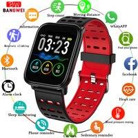 BANGWEI Smart Watch Women Full Screen Touch Smart Watch Blood Pressure Measurement Activity Tracker For Men Fitness Smart Watch