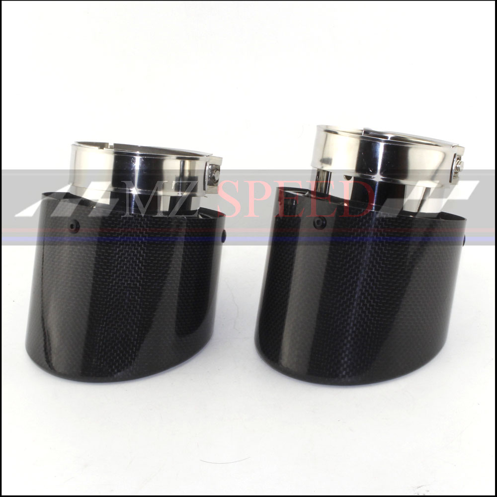 new 1Pcs long 120mm Glossy carbon fiber+stainless steel Muffler End Pipe exhaust pipe muffler For Universal Carbon Exhaust Tipsnew 1Pcs long 120mm Glossy carbon fiber+stainless steel Muffler End Pipe exhaust pipe muffler For Universal Carbon Exhaust Tips