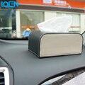 Venda quente Do Carro Para Casa Caixa de Tecido de Couro PU de Alta-grade Europeu Elegante Decoração Grande Caixa de Papel Suporte Para Todos carros Caminhões