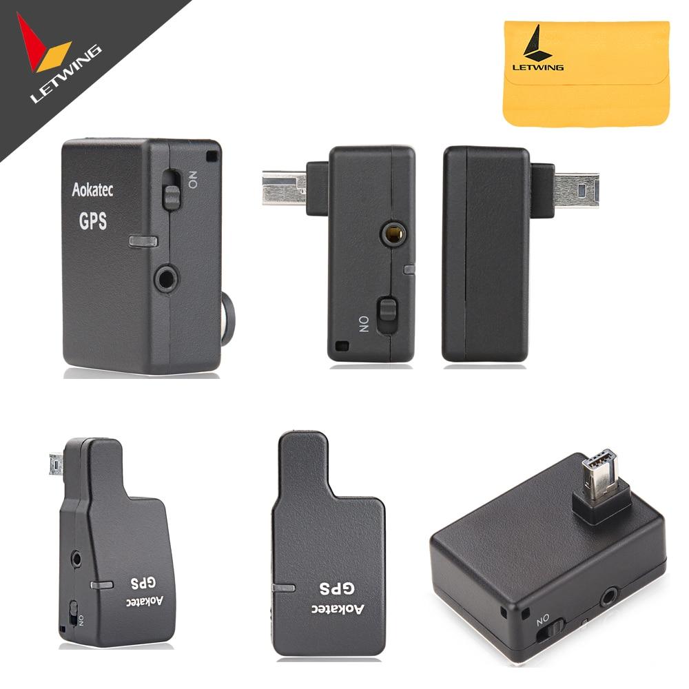 Aokatec Camera GPS Receiver for Nikon D5 D500 D4s D4 D810 D810A D610 D5500 D7100 D7200 D750 D90 Df for Fujifilm S5Pro