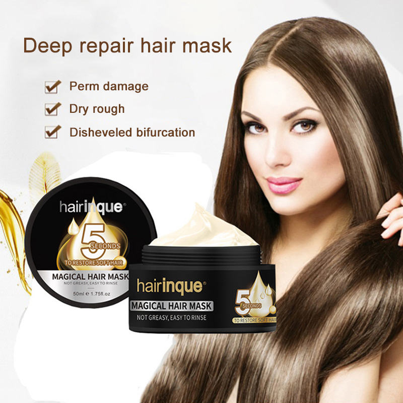 Dropshipping Hair Treatment Mask Repairs Damaged Hair Root Nourishing Smooth Care 50ml Best Hot Sale SMJ