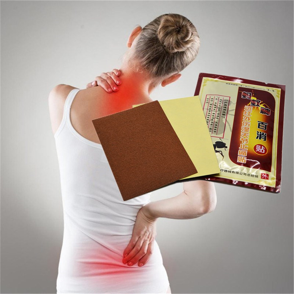 DISAAR Cheapest 80Pcs Ant Venom Essential Oil Patches For Joint Pain Patch Neck Back Body Pain Plaster Body Care