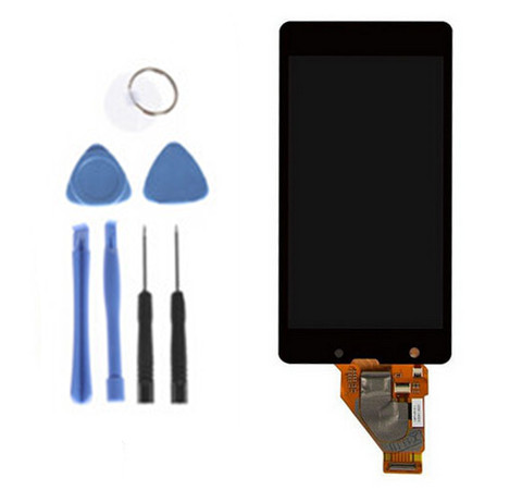 LCD Display Screen touch Digitizer Assembly +FREE TOOLS For Sony Xperia ZR M36h M36 C5502 C5503