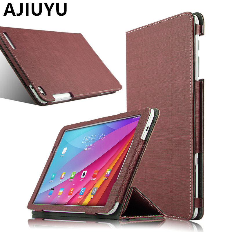 For Huawei MediaPad T1 10 Case Cover Leather T1-A21W T1-A23L Case PU Protective Smart Tablet T1 10.0 Honor Note 9.6 T1-A21L T110