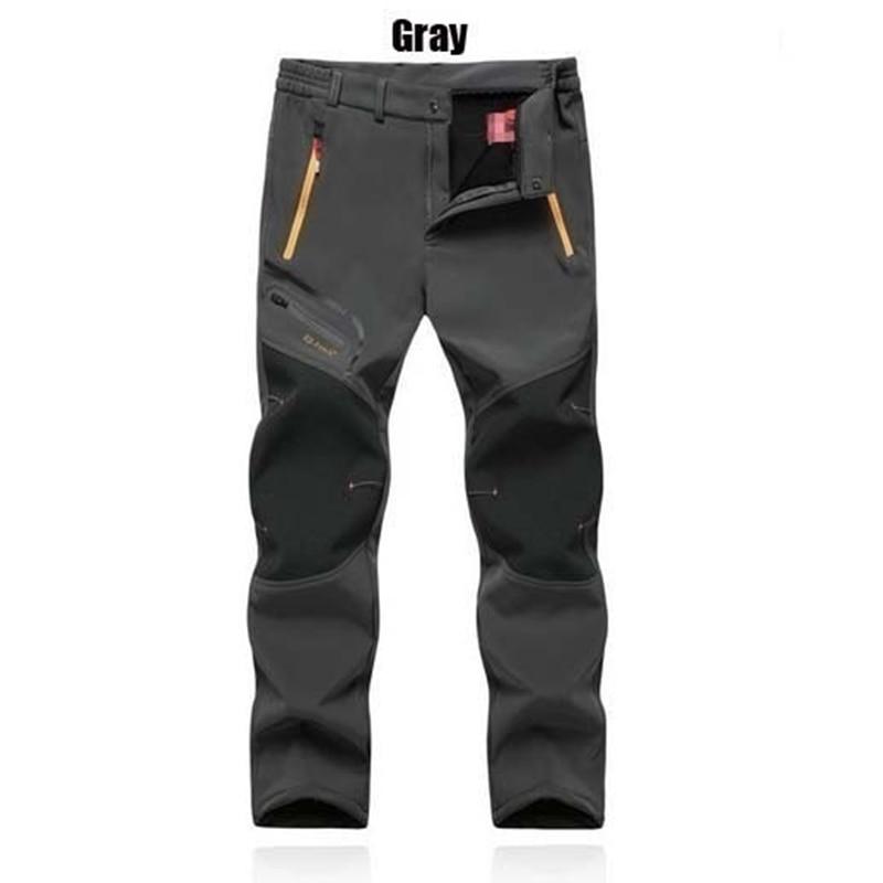 HTB12V5ZatzJ8KJjSspkq6zF7VXaG 2019 Winter Men Cargo Pants Elastic Waist Travel Softshell Trousers Waterproof Windproof Thermal Men's Warm Men's Trousers