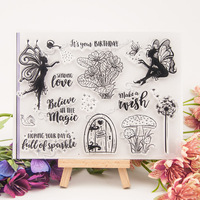 Gifts And Candles Design Scrapbook DIY Photo Album Paper CARDS Rubber Stamp The Clear Stamp Transparent