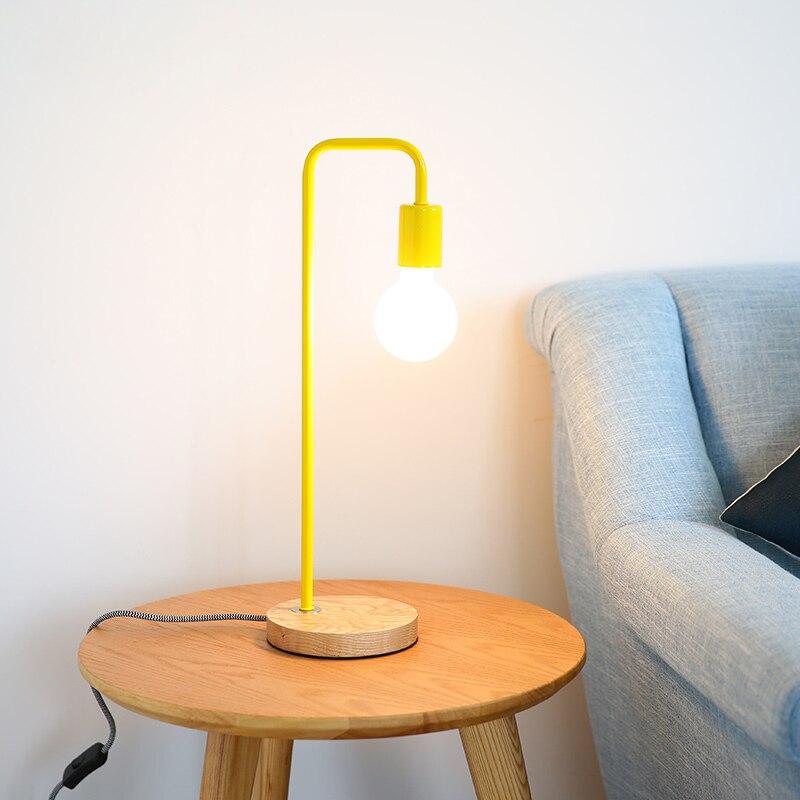 Livewin современный настольная лампа ночник 6 красочные Книги по искусству деко ночники деревянные дома Освещение E27 110 -240 В