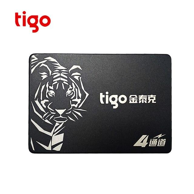Tigo SSD 1tb HDD 2,5 pulgadas SATA 1024GB gran capacidad unidad interna de estado sólido 6 Gb/s para ordenador portátil de escritorio S320 SATAIII