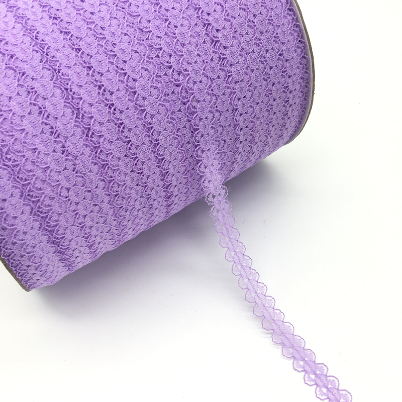 """HTB12V6BeNsIL1JjSZFqq6AeCpXah 10yards/lot 5/8"""" (15mm) Lace Ribbon Bilateral Handicrafts Embroidered Net Lace Trim Fabric Ribbon DIY Sewing Skirt Accessories"""
