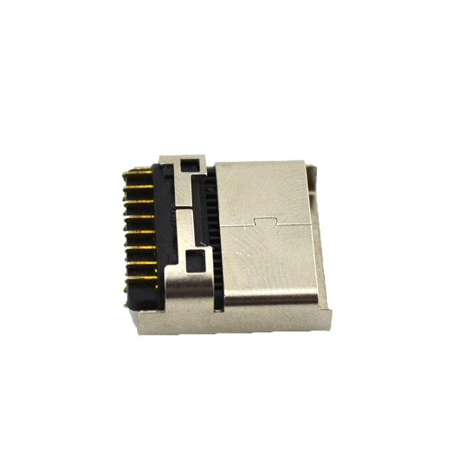 10 PCS הרבה גבוהה qualtiy מרוכבים AV מתאם כבל כבל 16pin 16 פינים שקע ממשק תקע מחבר עבור SEGA dreamCast עבור DC