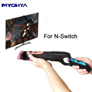 1pc Game Gun Handle Grips for Nintendo Switch Joy-Con Gamepad Controllers Game Accessories Compatible with NS Game