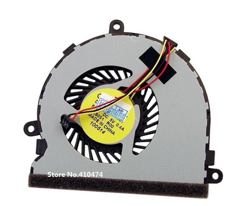 SSEA новый вентилятор для ноутбука Dell inspiron 15R 17 17R 3521 3721 5521 5535 5721 5737 Вентилятор охлаждения процессора 7H5H9 74X7K 074X7K DC28000C8A0