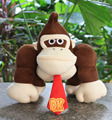 1Pcs/set 26cm Super Mario Plush Doll Soft Monkey King Kong Plush doll Mario toy for Children doll