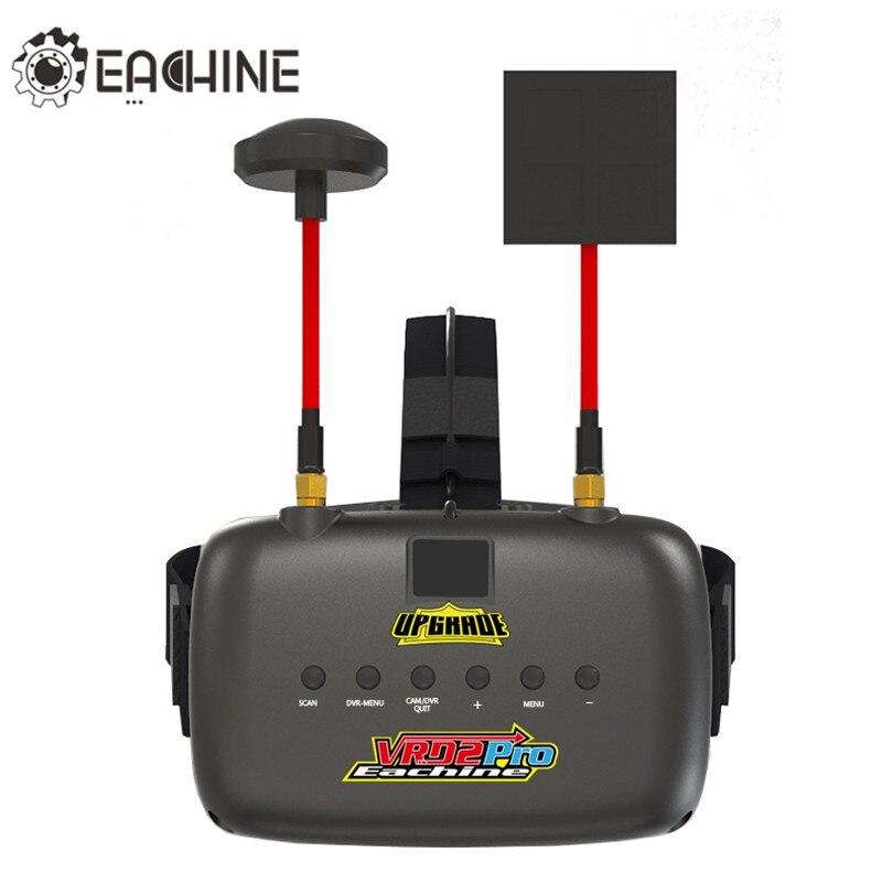 Nuovo Eachine VR D2 Pro Aggiornato Open Source 5 Pollici 800*480 Diversità 40CH 5.8G FPV Goggles w/DVR Lente Regolabile FPV Goggles