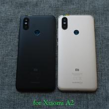 Original nova bateria de volta capa para xiaomi mi a2 mia2 mi6x mi 6x porta traseira habitação caso peças telefone androidone