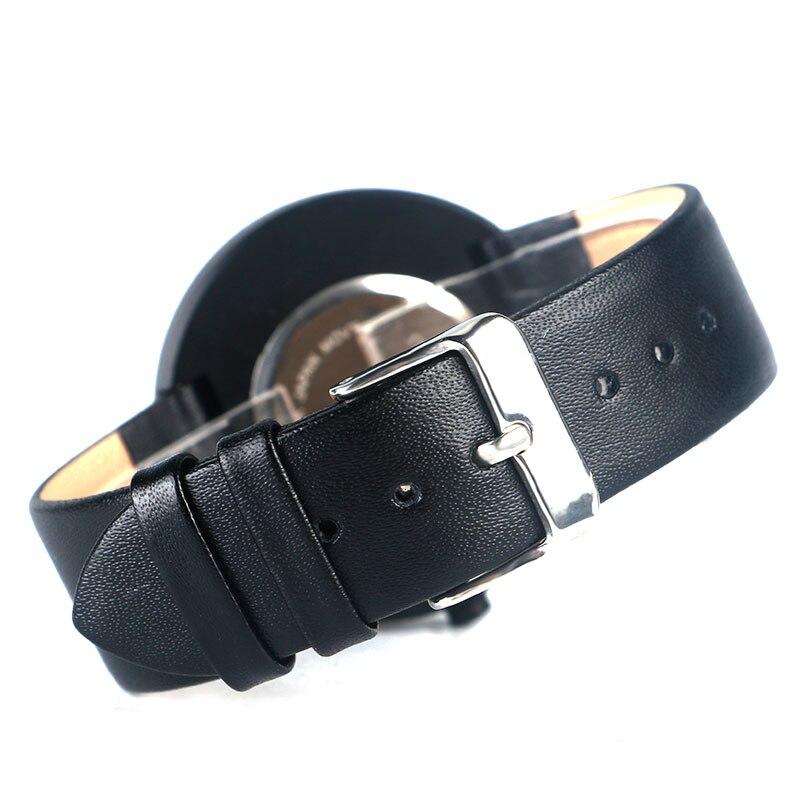 Модные наручные часы Уникальный поворотный Дизайн Повседневные часы Искусственная кожа ремешок лучших марок современные Бизнес часы для Для мужчин Для женщин
