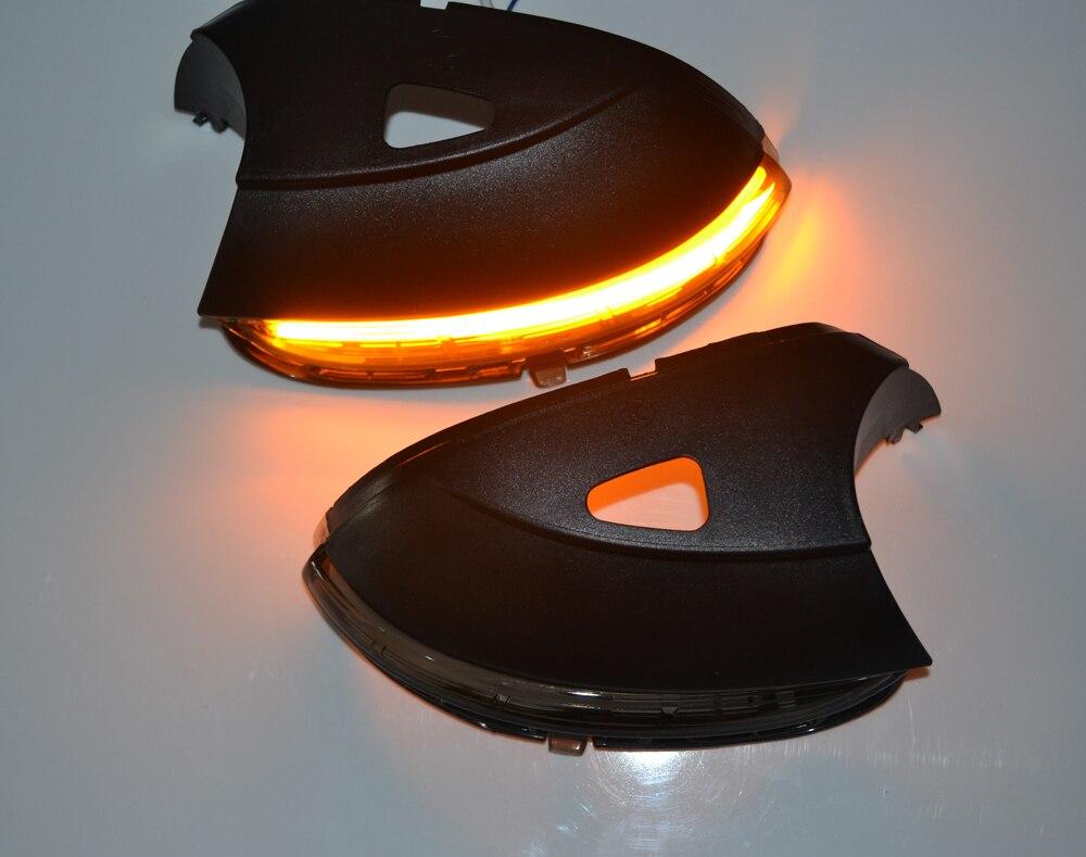 for Vw Scirocco MK3 Passat B7 CC Dynamic Mirror Indicator side LED Turn Signal Light Blinker