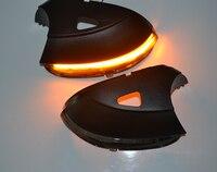for Vw Scirocco MK3 Passat B7 CC Dynamic Mirror Indicator side LED Turn Signal Light Blinker Sequential 2011 2013 2014