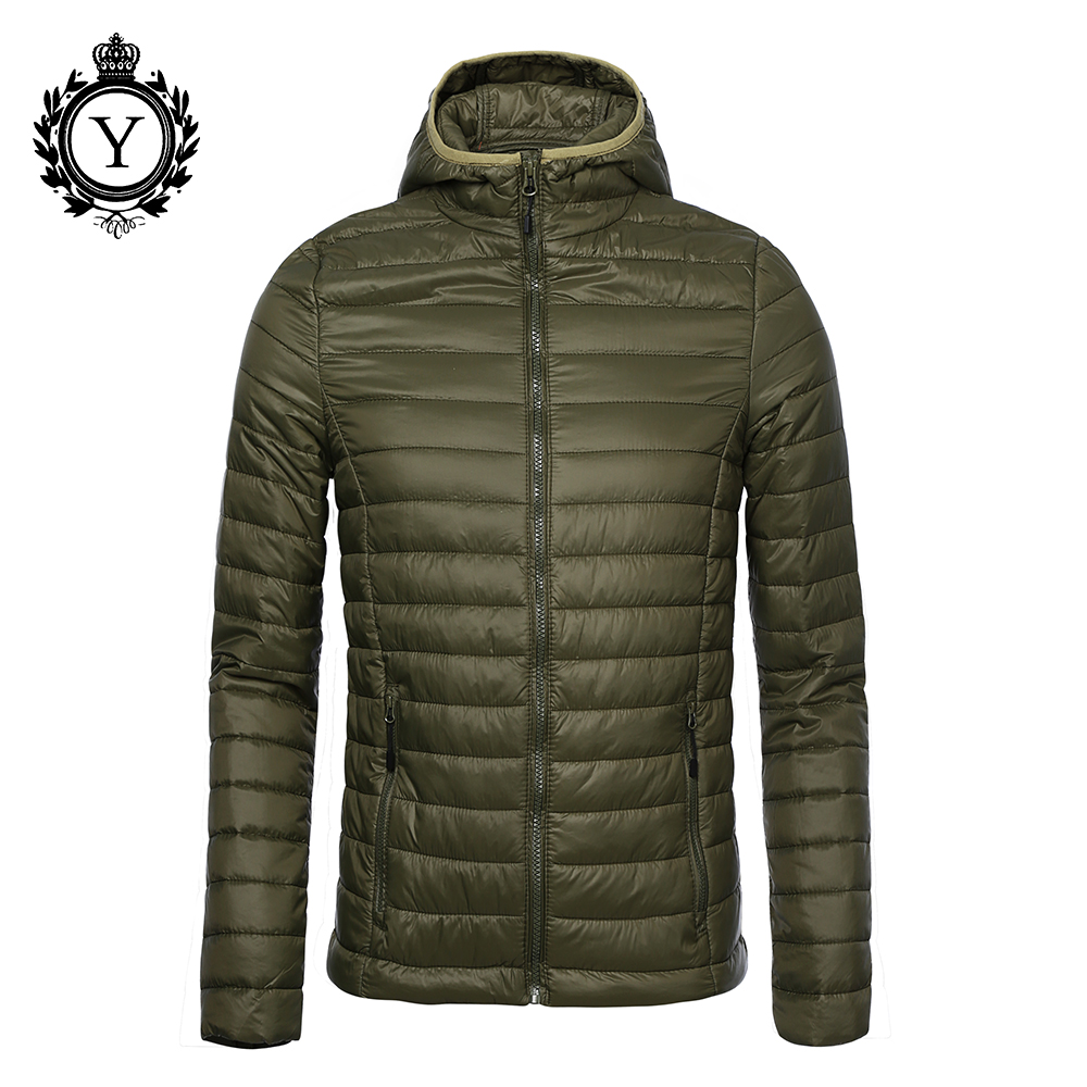 2017 COUTUDI Short Winter Light Coats And Jacket Men's Brand Clothing Army Green Thin Waterproof Coat For Man High Quality Coats