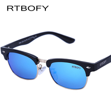 RTBOFY 2017 Fashion sunglasses brand designer sun glasses uv boys girl UV400 restoring ancient ways of glasses