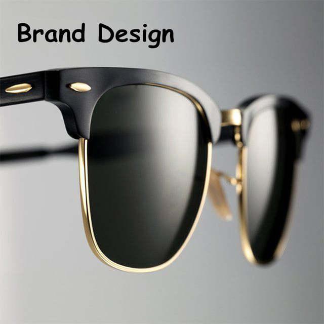 e60fa6027331e 2019 Clássico de Alta Qualidade Óculos Polarizados Homens óculos de Sol Das  Mulheres Designer De Marca