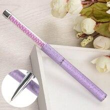 1Pc Purple Nail Art Liner Brush Pen Painting Drawing Pen UV Gel Liner Painting Brushes DIY Manicure Nail Art Tool